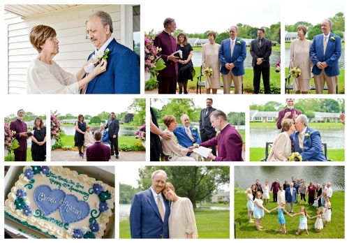 Fox Lake Anniversary Vow Renewal Photographer