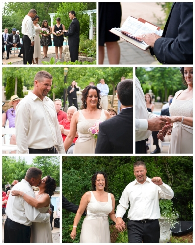 small wedding pictures
