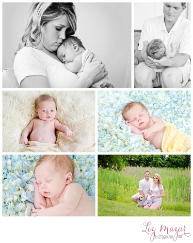 Lake Bluff Newborn Photography