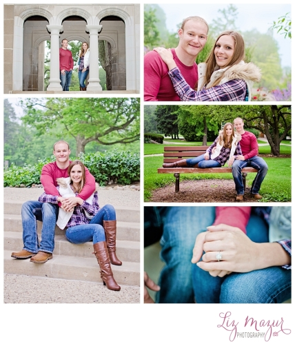 engagement photographer lake bluff